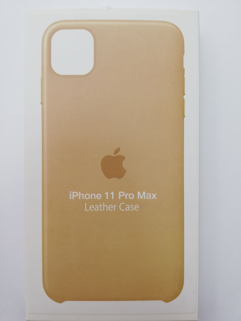 Maska za telefon Iphone 11 Pro Max - Leather case gold