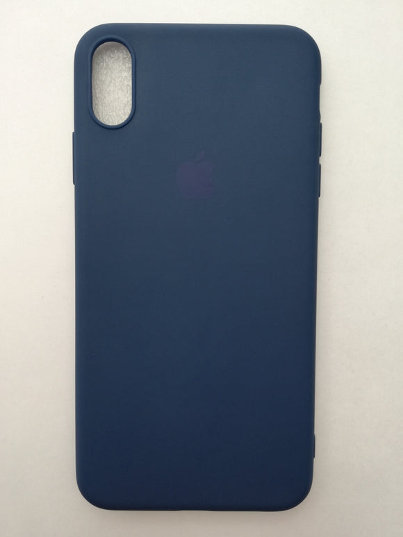 Maska za telefon Iphone XR - Guma Dark Blue