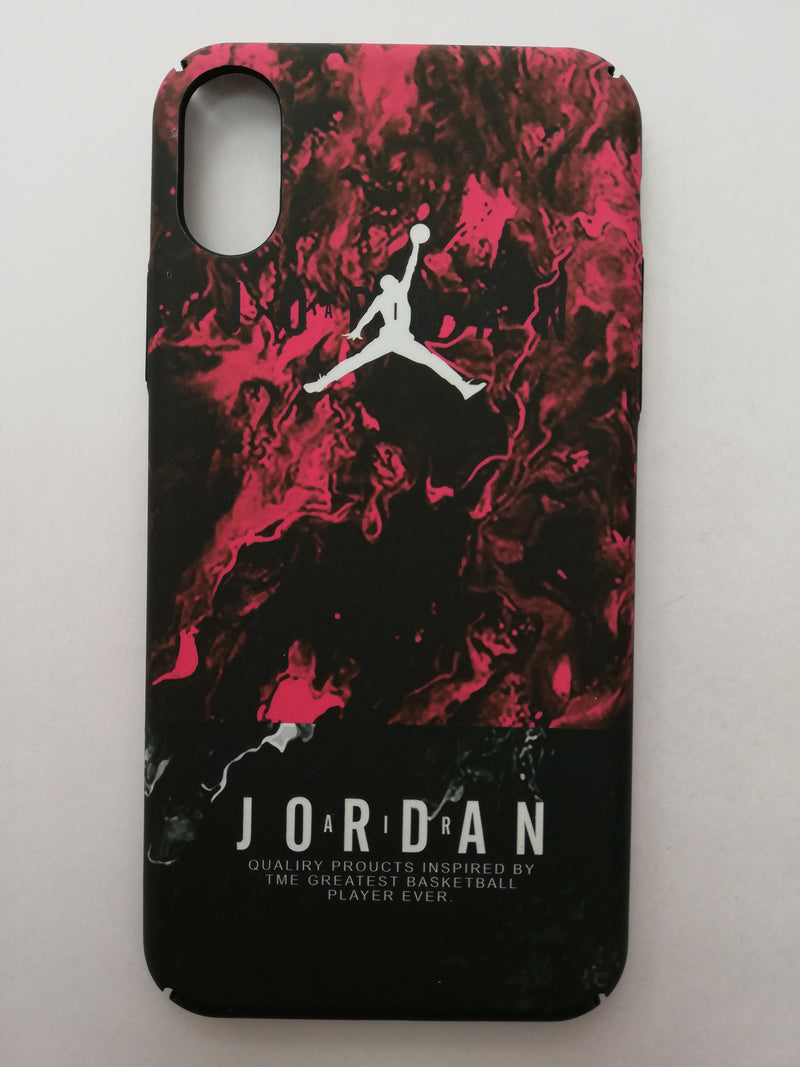 Maska za telefon Iphone X/Xs - Jordan Red
