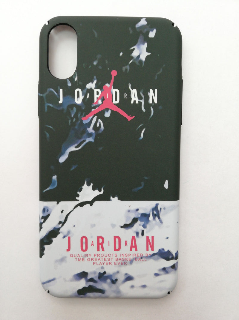 Maska za telefon Iphone X/Xs - Jordan Black and White