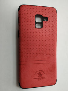 Maska za telefon Samsung A8 2018 - Polo Case Red