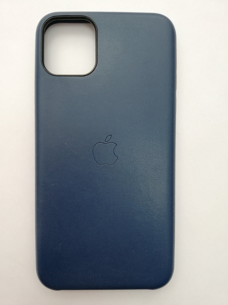 Maska za telefon Iphone 11pro max - Leather Case Dark Blue