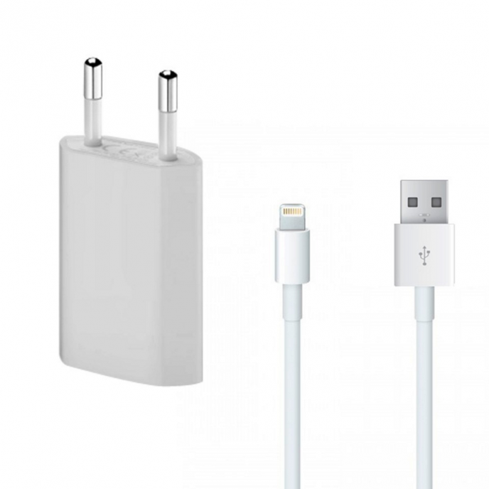 Adapter / Polnac so kabel - Apple iPhone 5