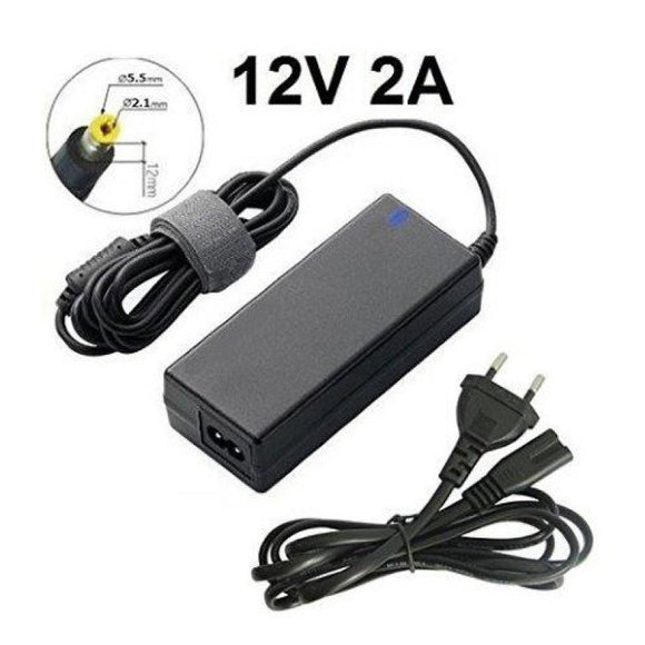 AC/DC Struen Adapter - 12V 2A - 5.5mmx2.1mm