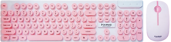 Wireless Tastatura i maus kombo - DCM002WE - Pink