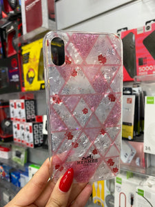 Maska za telefon Iphone Xs Max - Clear Rose Hermes