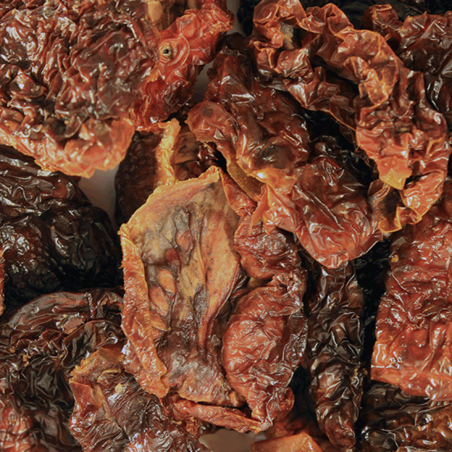 Sun-dried Tomatoes with salt - Organic