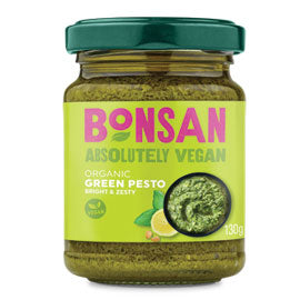 Pesto - Green (Vegan) BONSAN 130g