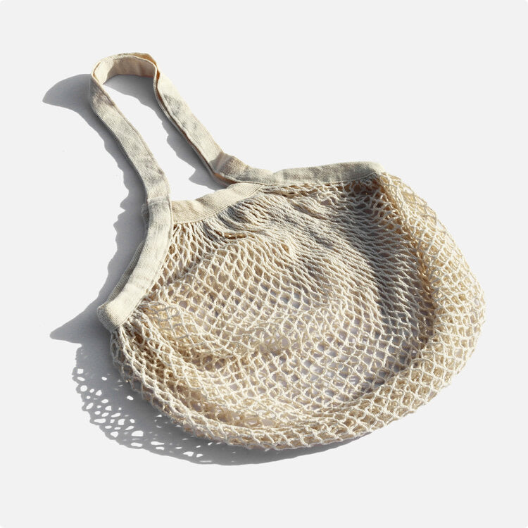 Organic Cotton Mesh Shopping Bag
