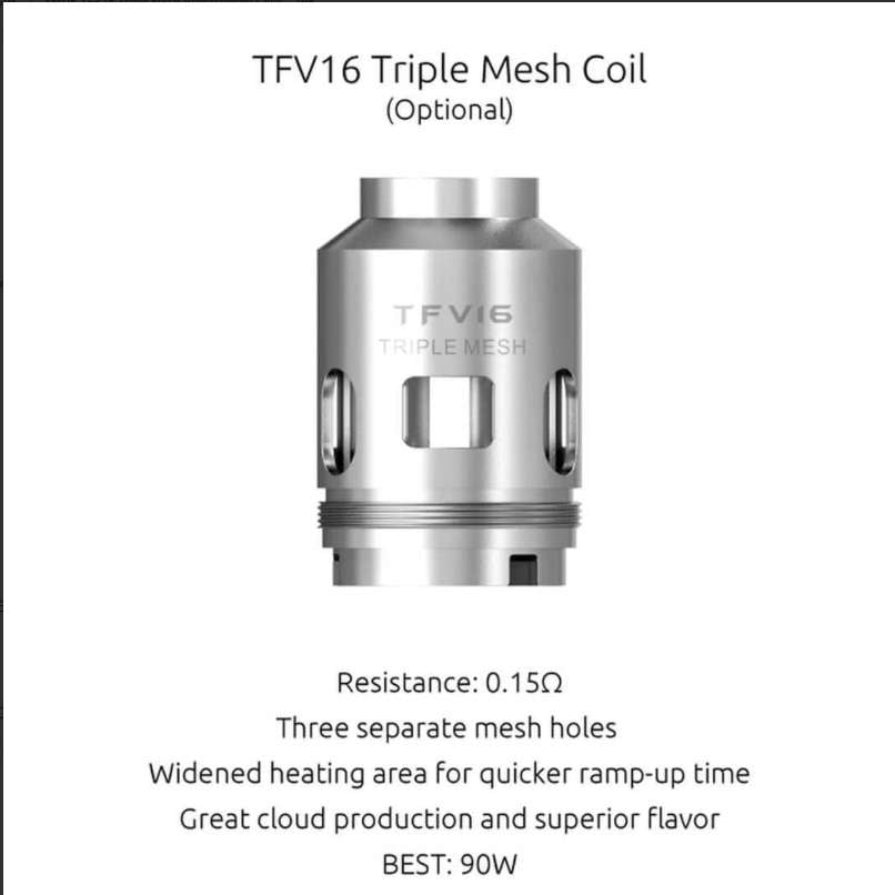 Smok TFV16 King Replacement Coils (5149906468908)