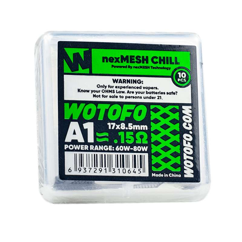 Wotofo nexMesh Replacement Coils (5406130503829)