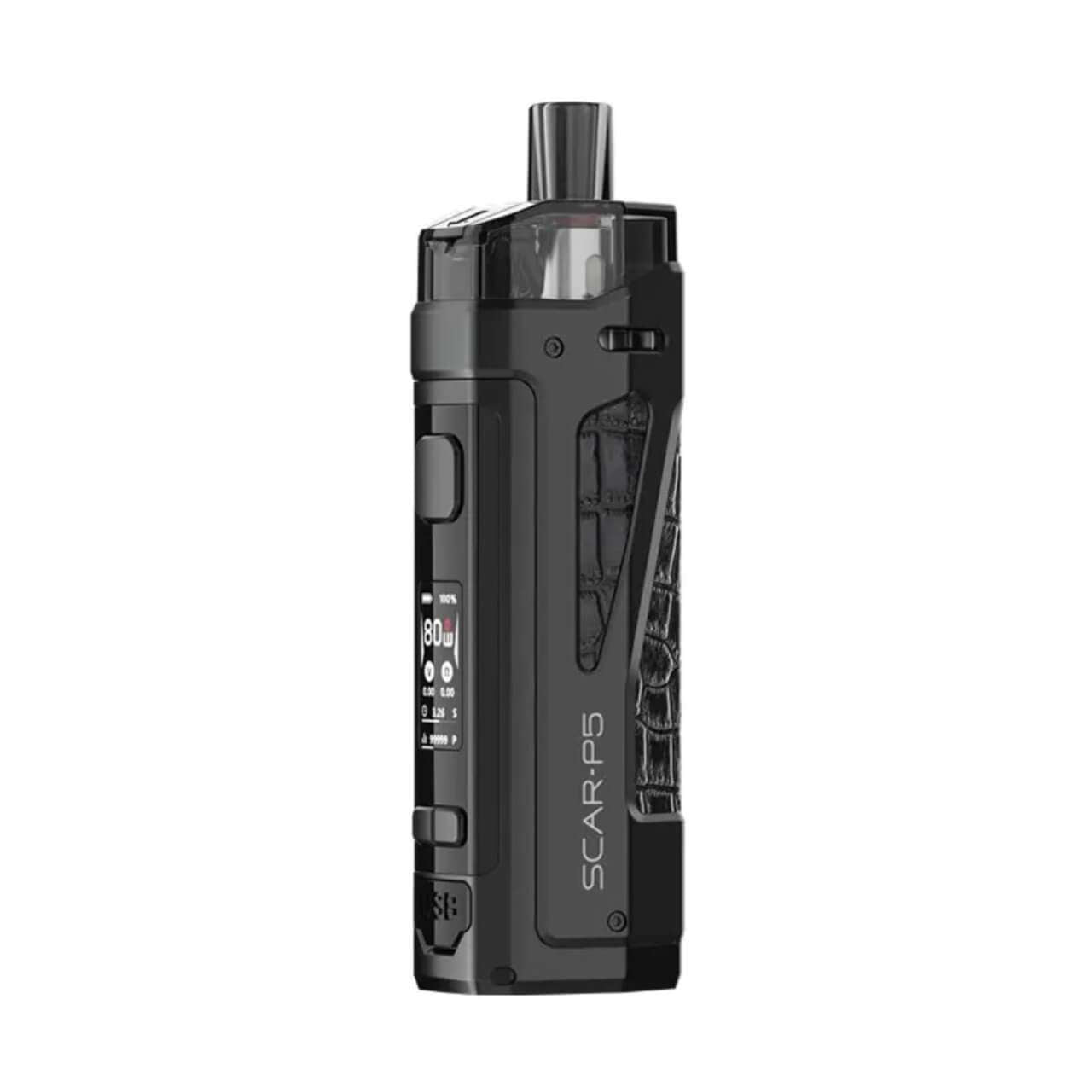 SMOK SCAR-P5 18650 Starter Kit With 2 x 5ML Refillable RPM Pods - BLV Delivery