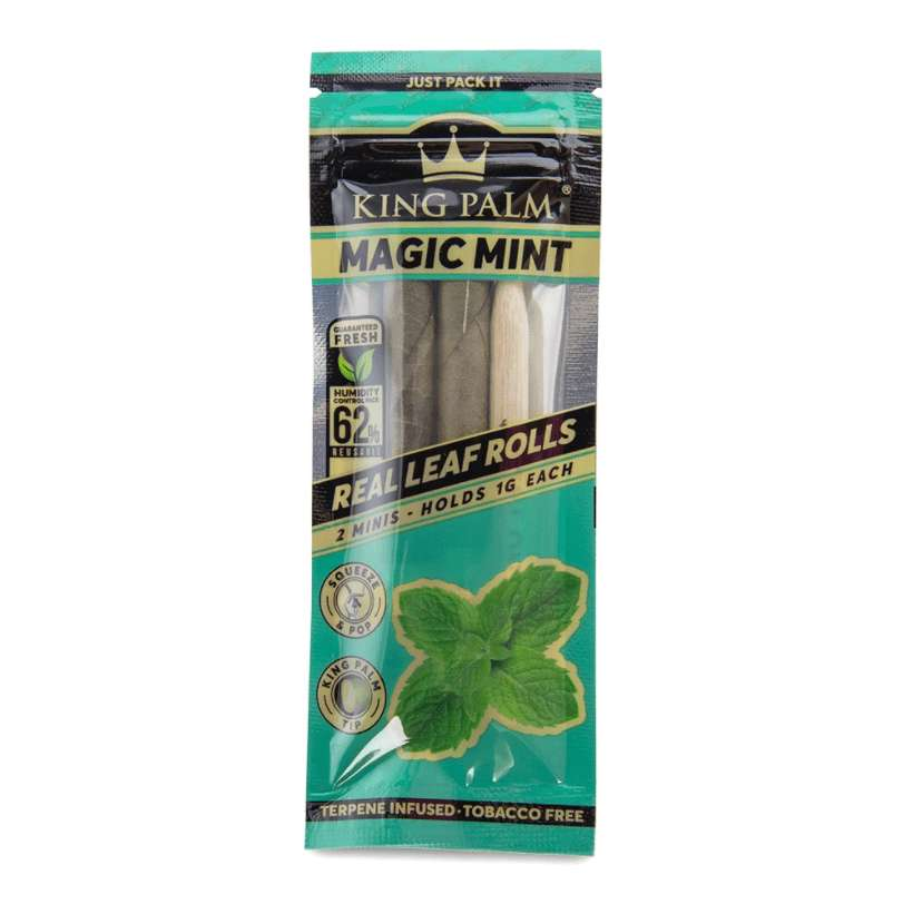 King Palm Flavored Mini Size Hand Rolled Leaf - BLV Delivery