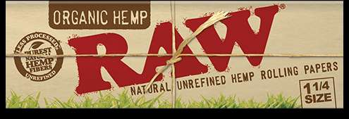 1 × RAW Rolling Papers - 1 1/4 Size - BLV Delivery