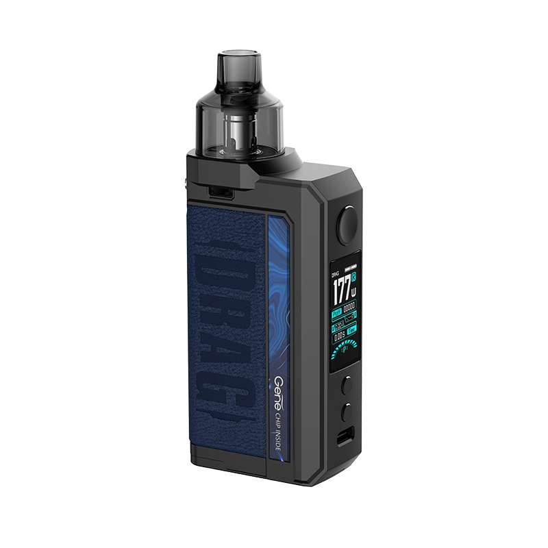 VooPoo Drag MAX 18650 Pod With 4.5ML Refillable PnP Pod - BLV Delivery