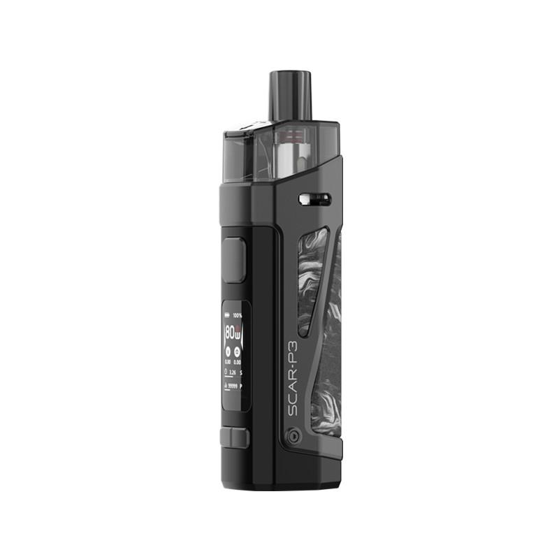 SMOK SCAR-P3 80W 2200mAh Pod System Starter Kit With 2 x 5.5ML Refillable Pod - BLV Delivery