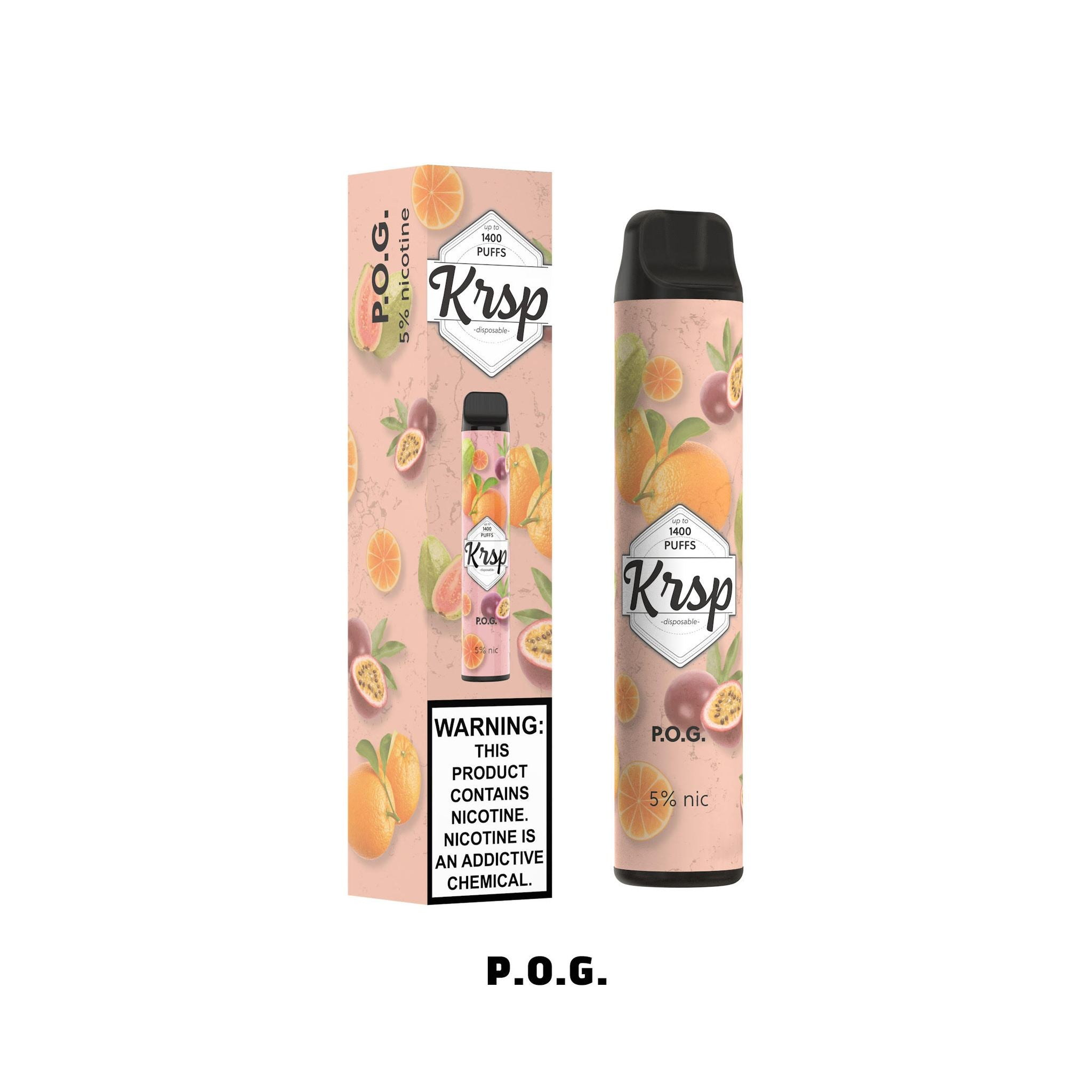 KRSP 5ML 1400 Puffs 500mAh Disposable Vape