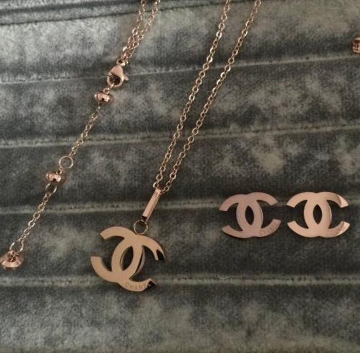 CC inspired necklace
