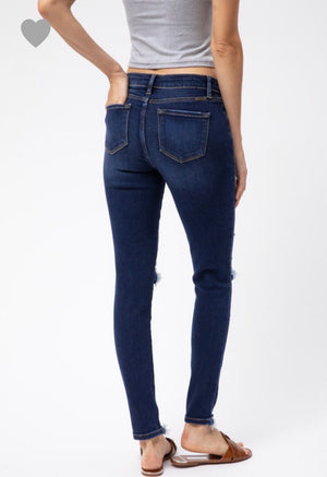 KanCan distressed skinnies