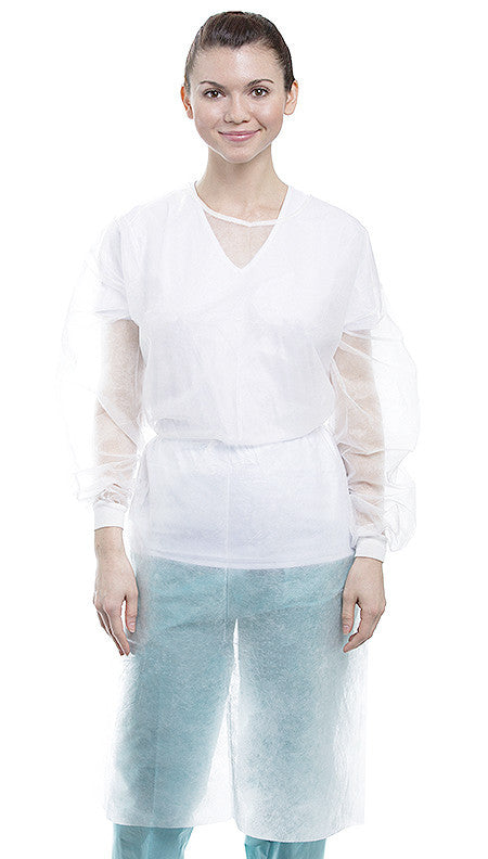 Isolation Gown – Regular Knit Cuff