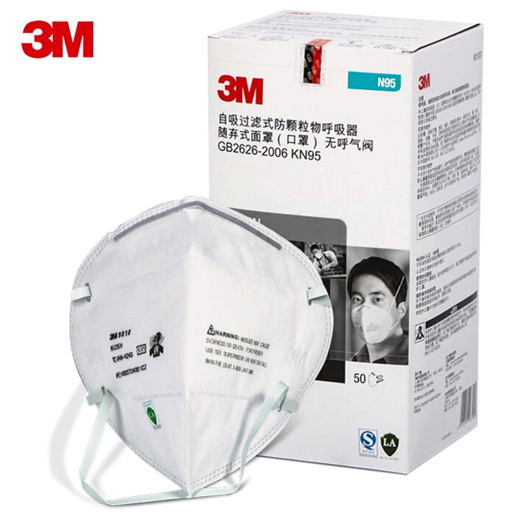 3M™ Particulate Respirator 9010CN (China), NIOSH N95 Headbands Vertical Flatfold