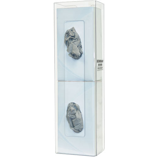 Gloves Box Dispenser-Double - space saver