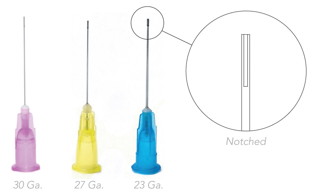 Endo Irrigation Needle Tips (Notched)