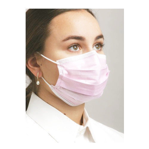 Level 1 Dual Fit Ear-Loop Face Mask (Pleated)