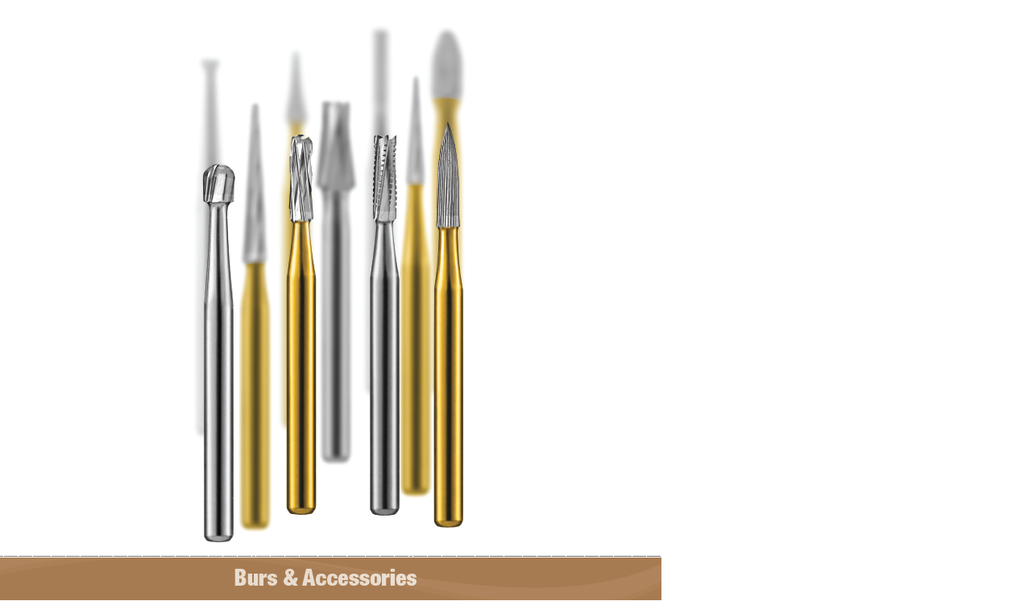 Most Popular Carbide Burs (RIGHT ANGLE/LATCH-TYPE (RA) with Low speed Hand pieces)