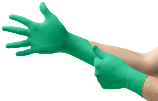 MICRO-TOUCH® DENTA-GLOVE® Green Neoprene (POLYCHLOROPRENE)