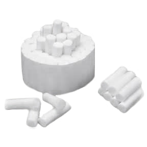 Medicom® Cotton Rolls ( Plain Wrapped #2 Medium)