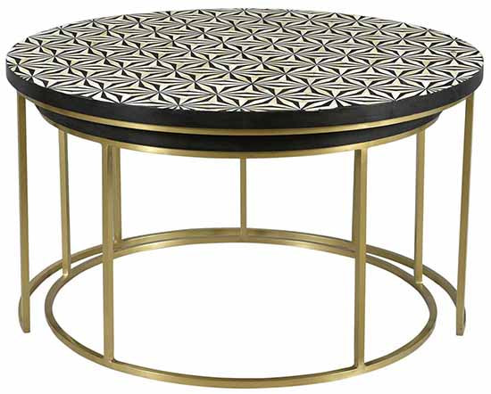 Agoura Tiled Nesting Tables