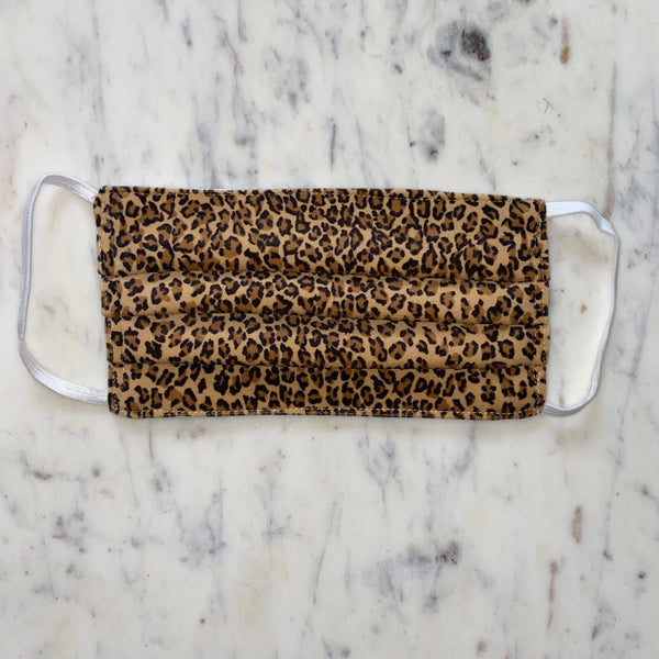 Leopard Washable Fabric Mask