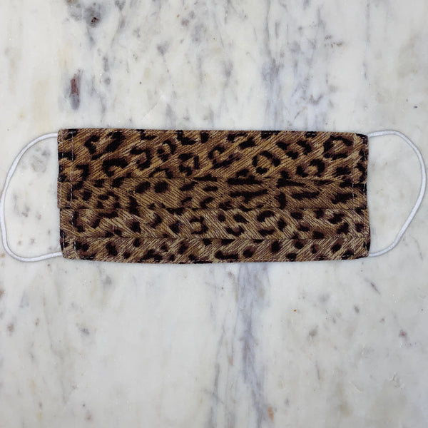 Classic Cheetah Washable Fabric Mask