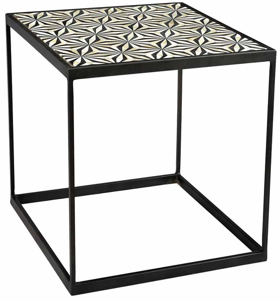 Agoura Black End Table