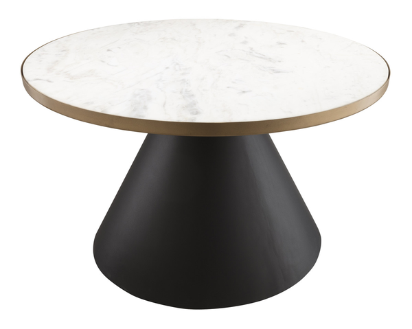 Bordered Marble Coffee Table