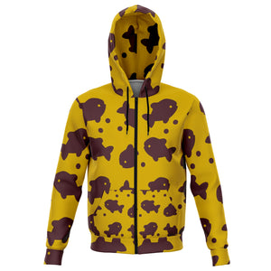 Fall Guys Zip Hoodie Fish - Bumblebee