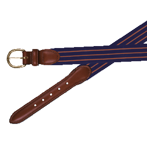 Belgian-Stretch-Navy/Orange-Belt