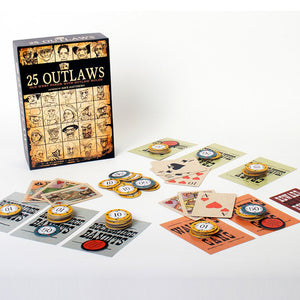 25 Outlaws Poker Game