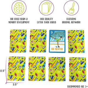 Sport Go Fish! Memory Game Playing Cards