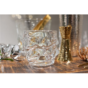 Hand Blown On The Rocks Glass Set