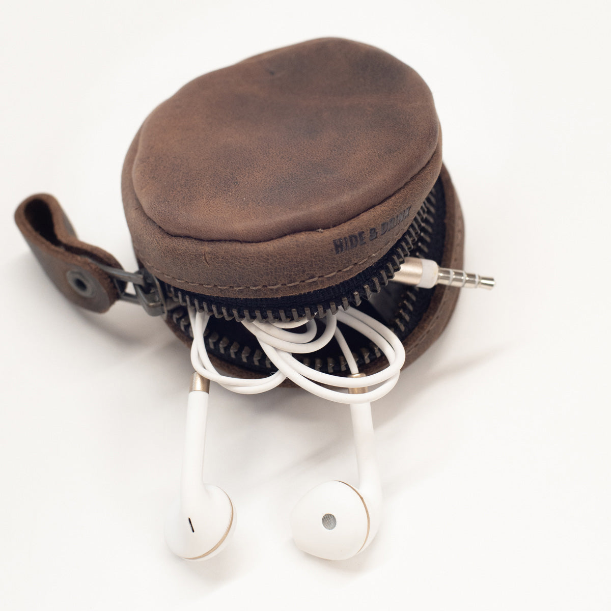 Leather Earbud Case