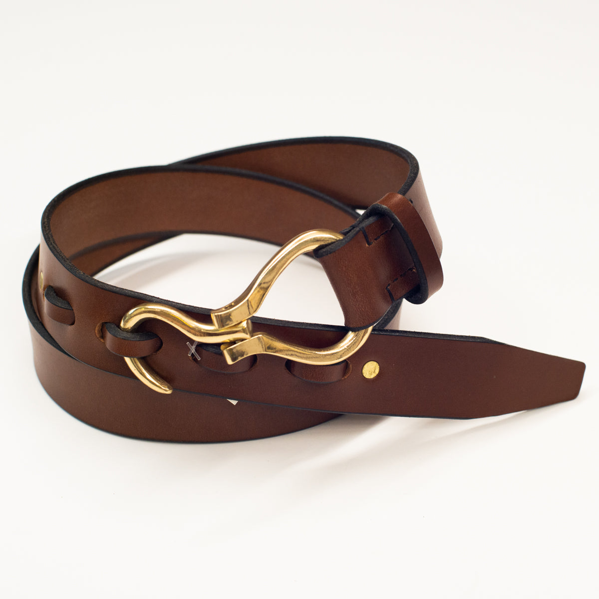 Wiley Leather Hoof Pick Belt