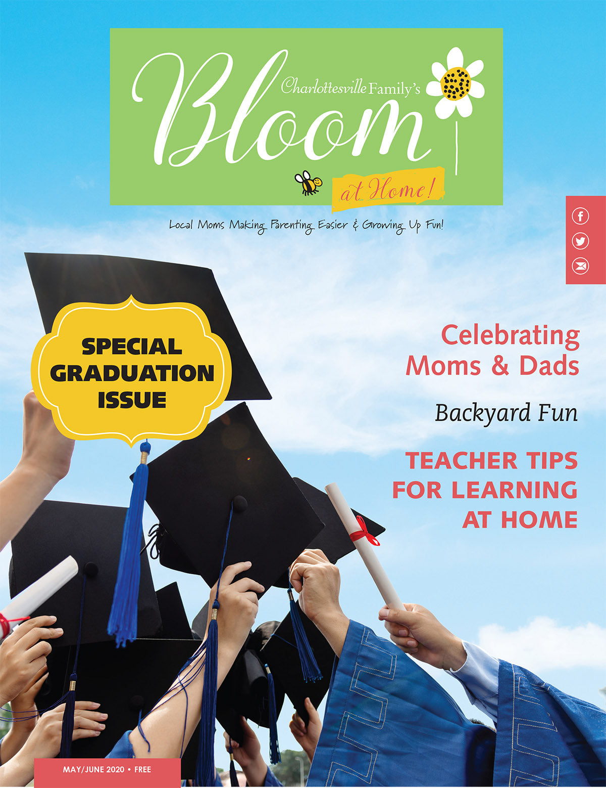 Charlottesville Family Bloom May/June - 2020 Single Print Issue