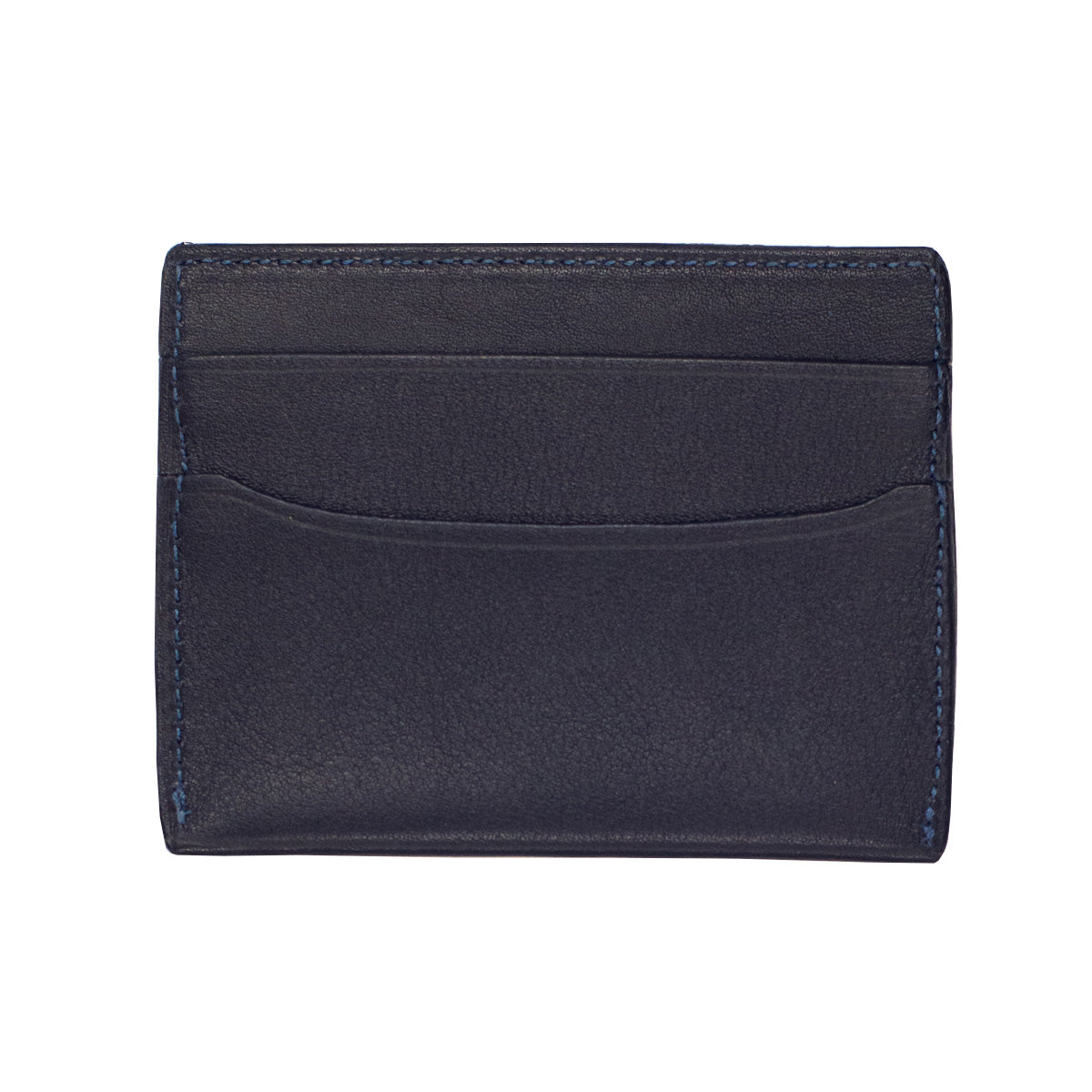 Handmade Wallet in Navy Leather