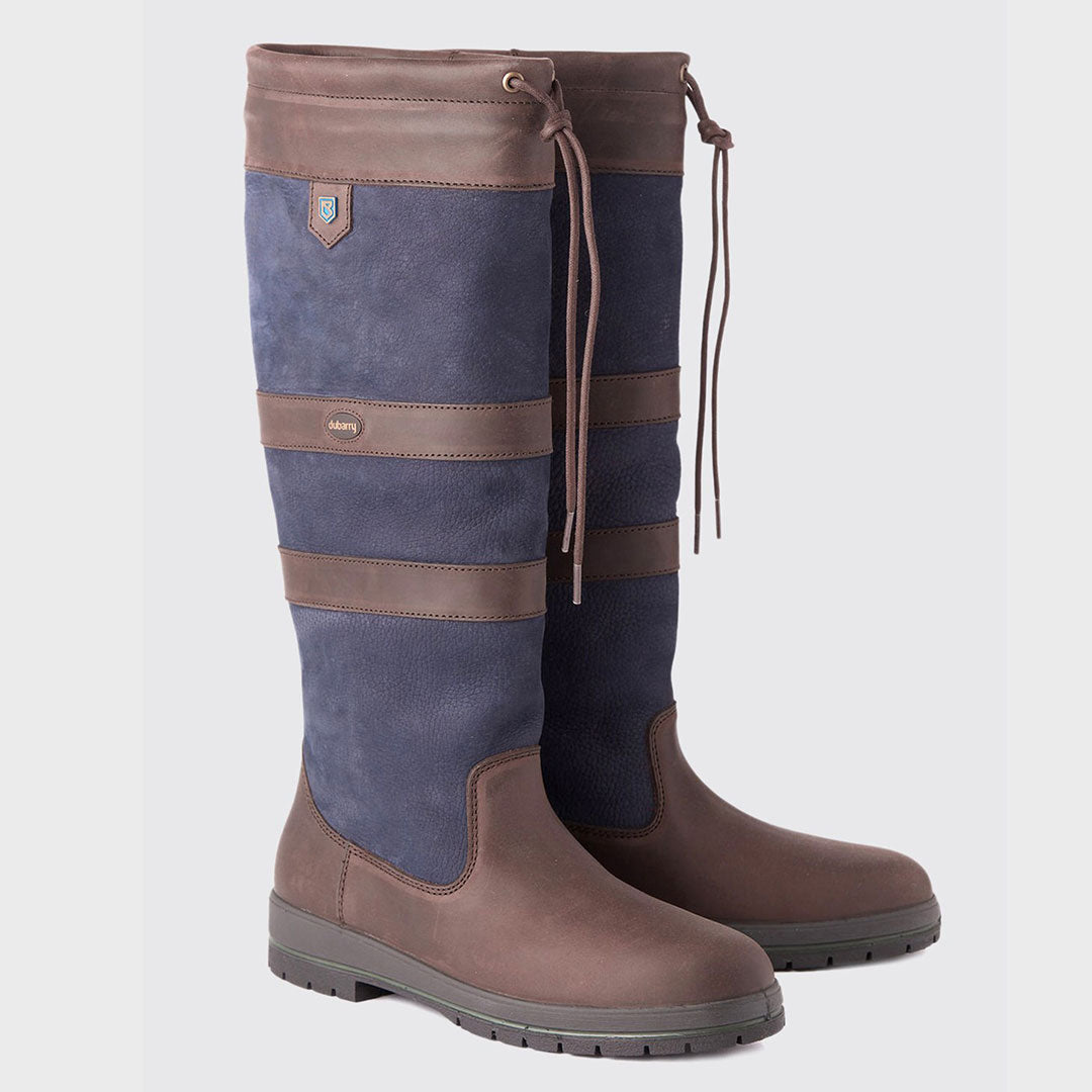 Galway Country Boot Navy/Brown