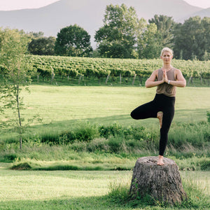 Vineyard Yoga Retreat at Veritas Vineyard & Winery