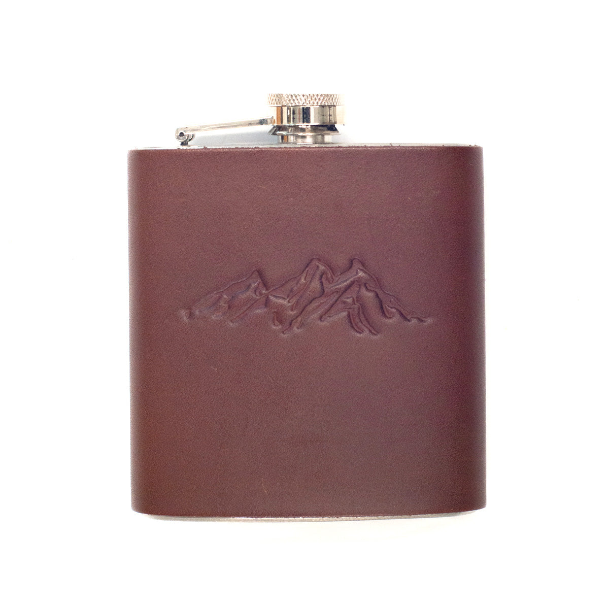 Blue Ridge Leather Flask