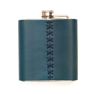 UVA Flask in Leather
