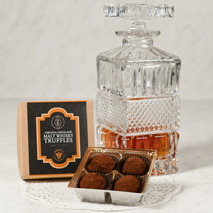 Virginia Malt Whiskey Truffles